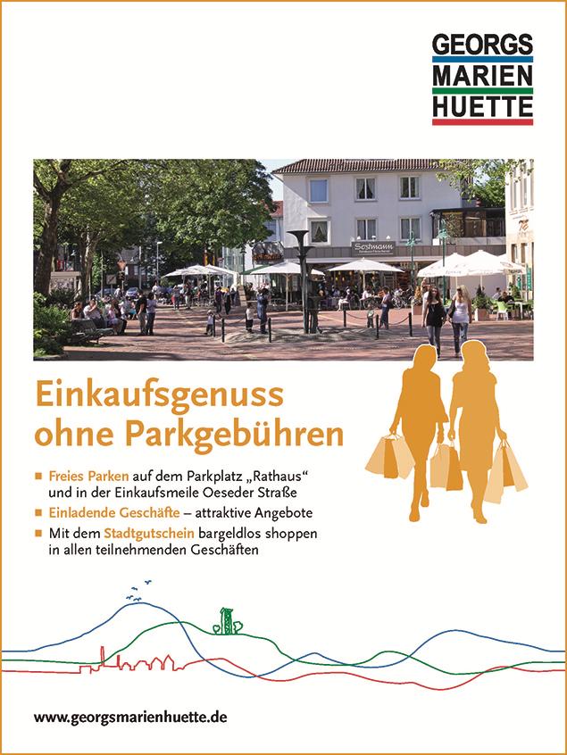 Anzeige Einkaufen GMHütte©Stadt Georgsmarienhütte