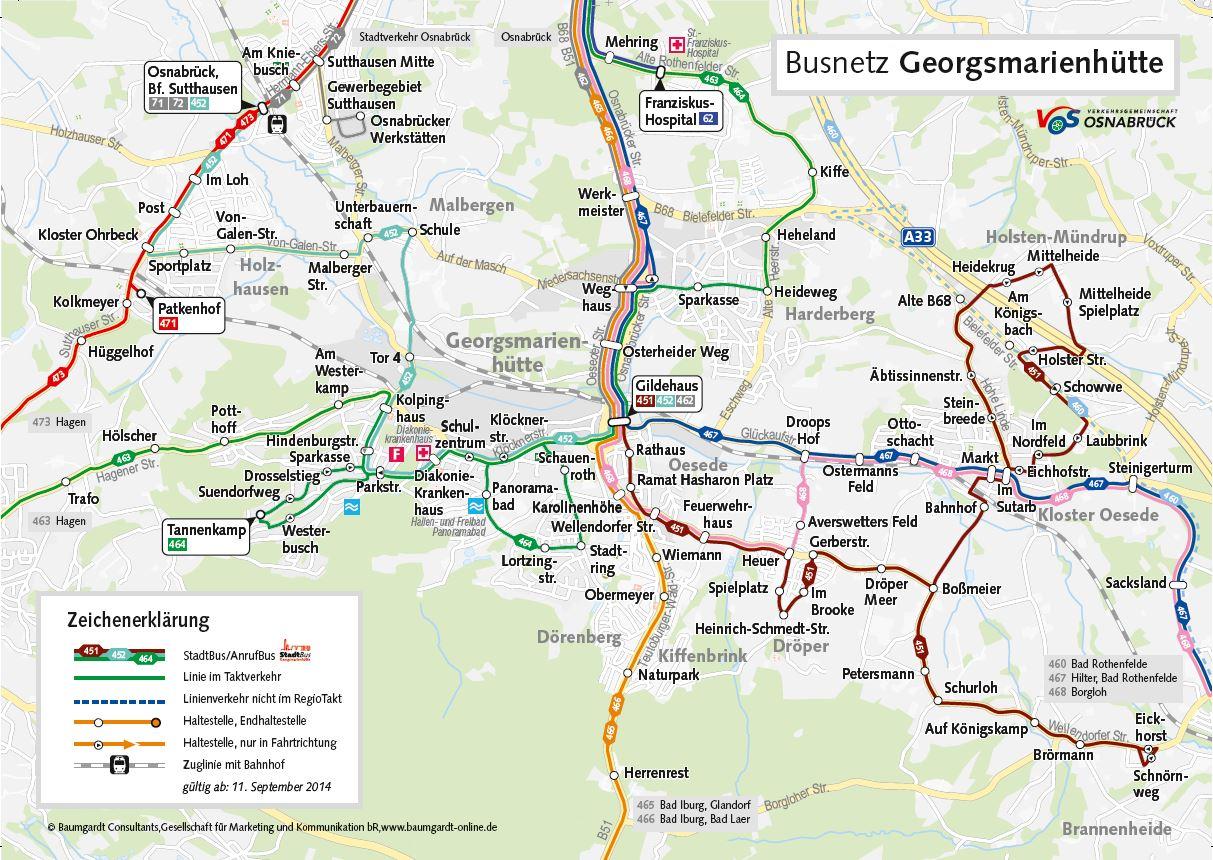 Busnetz Georgsmarienhütte©VOS