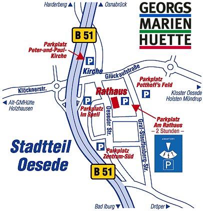 Anfahrtsskizze Detailansicht©Stadt Georgsmarienhütte