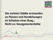 Die meisten Städte entstanden..©Stadt Georgsmarienhütte