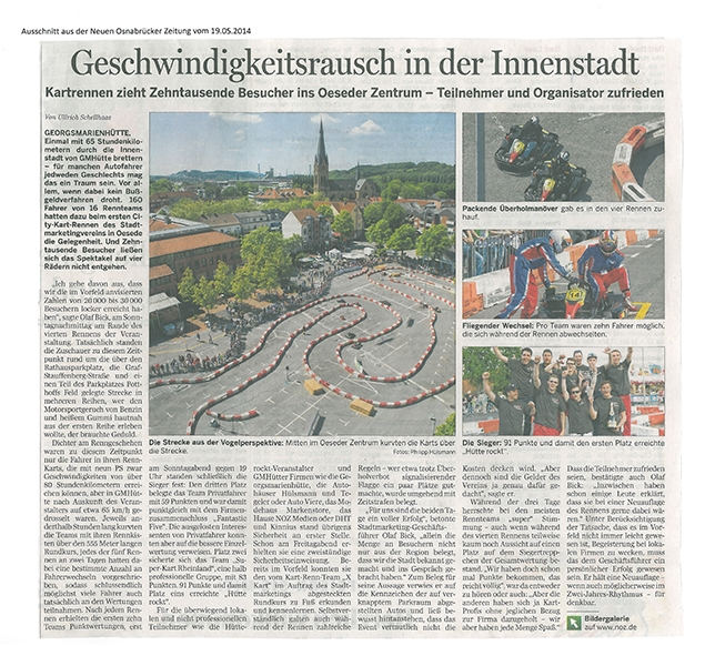 Pressebericht Kartrennen 2014©Stadtmarketing Georgsmarienhütte e.V.
