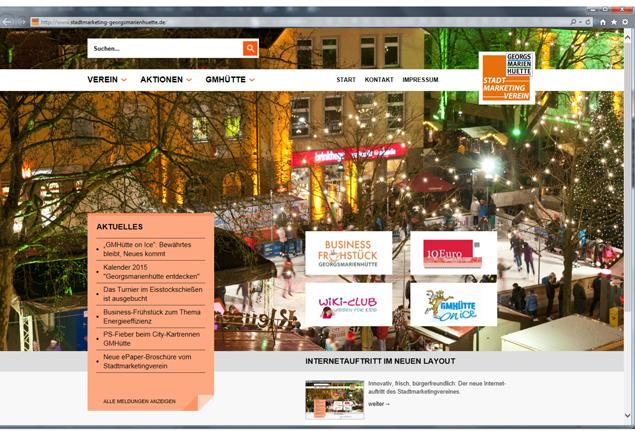 Homepage SMG©Stadtmarketing Georgsmarienhütte e.V.