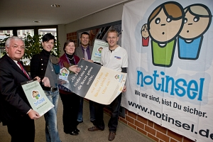 Pressevorstellung Notinsel © SMG