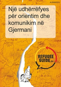 Refugee Guide albanisch © Refugee Guide